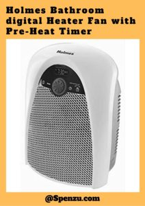 Holmes Bathroom digital Heater Fan with Pre-Heat Timer Review