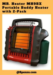 MR. Heater MH9BX Portable Buddy Heater with 2-Pack Review